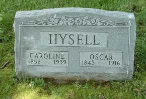 YAGER/YEAGER HYSELL, CAROLINE - Meigs County, Ohio | CAROLINE YAGER/YEAGER HYSELL - Ohio Gravestone Photos