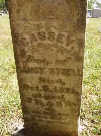 HYSELL, CASSEY - Meigs County, Ohio | CASSEY HYSELL - Ohio Gravestone Photos
