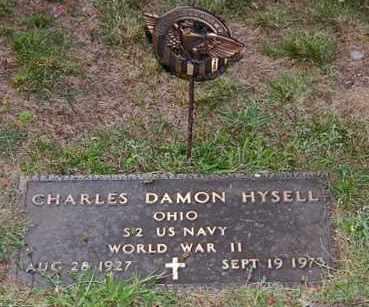HYSELL, CHARLES DAMON - Meigs County, Ohio | CHARLES DAMON HYSELL - Ohio Gravestone Photos