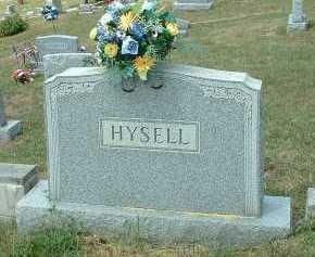 HYSELL, ELIZABETH - Meigs County, Ohio | ELIZABETH HYSELL - Ohio Gravestone Photos