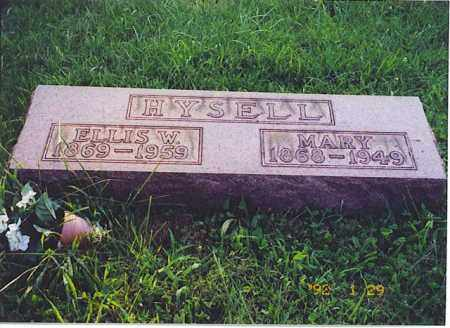 HYSELL, MARY - Meigs County, Ohio | MARY HYSELL - Ohio Gravestone Photos