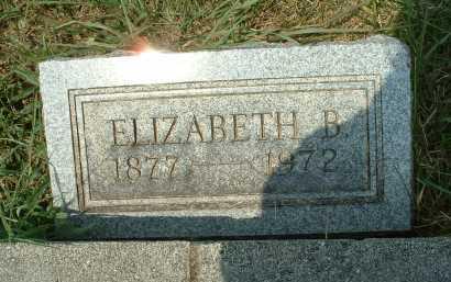 HYSELL, ELIZABETH B. - Meigs County, Ohio   ELIZABETH B. HYSELL - Ohio Gravestone Photos