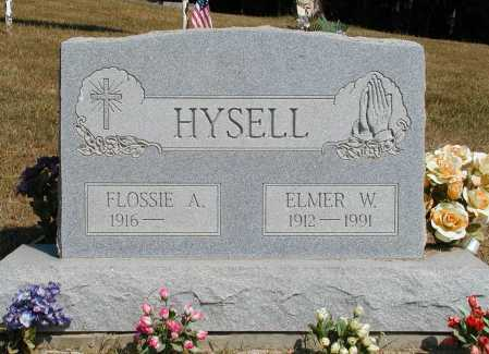 HYSELL, ELMER W. - Meigs County, Ohio | ELMER W. HYSELL - Ohio Gravestone Photos