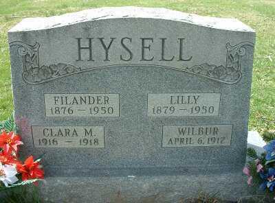 HYSELL, FILANDER JACKSON - Meigs County, Ohio | FILANDER JACKSON HYSELL - Ohio Gravestone Photos