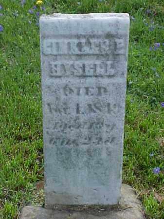 HYSELL, GINKLES E. - Meigs County, Ohio | GINKLES E. HYSELL - Ohio Gravestone Photos