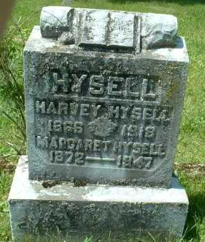 HYSELL, MARGARET - Meigs County, Ohio | MARGARET HYSELL - Ohio Gravestone Photos