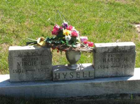 HYSELL, HARRY H. - Meigs County, Ohio | HARRY H. HYSELL - Ohio Gravestone Photos