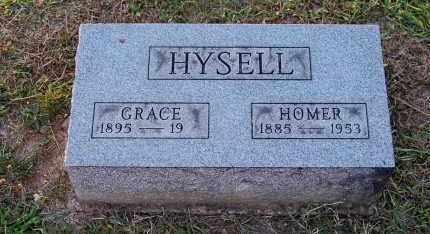 HYSELL, HOMER O. - Meigs County, Ohio | HOMER O. HYSELL - Ohio Gravestone Photos