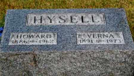 HYSELL, HOWARD - Meigs County, Ohio | HOWARD HYSELL - Ohio Gravestone Photos