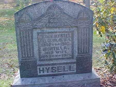HYSELL, JOHN - Meigs County, Ohio | JOHN HYSELL - Ohio Gravestone Photos