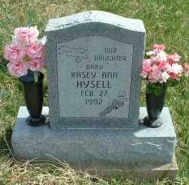 HYSELL, KASEY ANN - Meigs County, Ohio | KASEY ANN HYSELL - Ohio Gravestone Photos