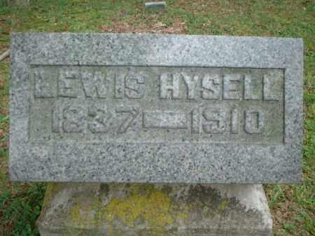 HYSELL, LEWIS - Meigs County, Ohio | LEWIS HYSELL - Ohio Gravestone Photos