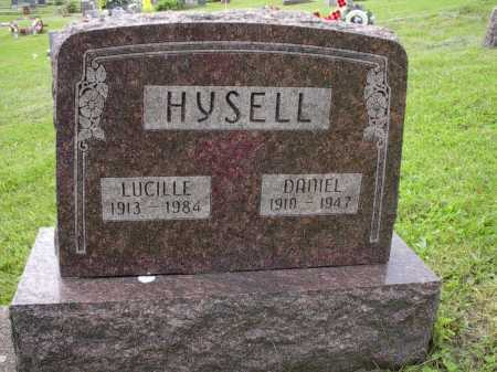 HYSELL, LUCILLE - Meigs County, Ohio | LUCILLE HYSELL - Ohio Gravestone Photos