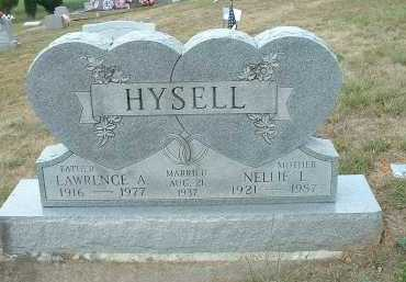 PIERCE HYSELL, NELLIE LOVINA - Meigs County, Ohio | NELLIE LOVINA PIERCE HYSELL - Ohio Gravestone Photos