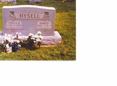 MIGHT HYSELL, LEULLA BELLE - Meigs County, Ohio | LEULLA BELLE MIGHT HYSELL - Ohio Gravestone Photos