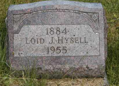 HYSELL, LOID J. - Meigs County, Ohio | LOID J. HYSELL - Ohio Gravestone Photos