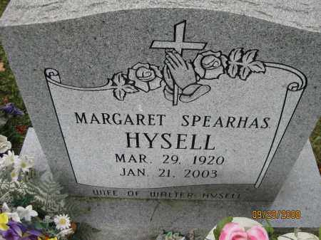SPEARHAS HYSELL, MARGARET - Meigs County, Ohio | MARGARET SPEARHAS HYSELL - Ohio Gravestone Photos