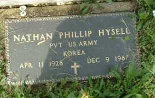 HYSELL, NATHAN PHILLI[ - Meigs County, Ohio | NATHAN PHILLI[ HYSELL - Ohio Gravestone Photos