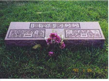 HYSELL, DIANA - Meigs County, Ohio | DIANA HYSELL - Ohio Gravestone Photos