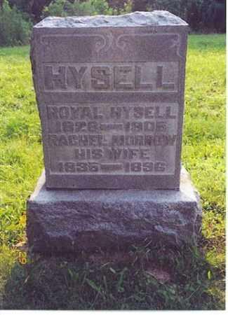 HYSELL, RACHEL - Meigs County, Ohio | RACHEL HYSELL - Ohio Gravestone Photos