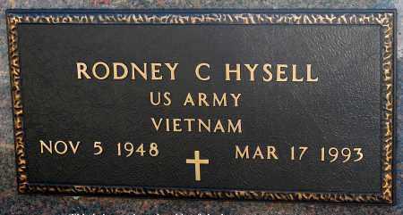 HYSELL, RODNEY C - Meigs County, Ohio | RODNEY C HYSELL - Ohio Gravestone Photos