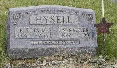 HYSELL, STRAUDER - Meigs County, Ohio | STRAUDER HYSELL - Ohio Gravestone Photos