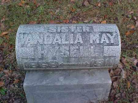 HYSELL, VANDALIA MAY - Meigs County, Ohio | VANDALIA MAY HYSELL - Ohio Gravestone Photos