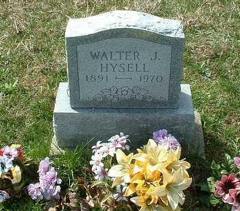HYSELL, WALTER JAMES - Meigs County, Ohio | WALTER JAMES HYSELL - Ohio Gravestone Photos