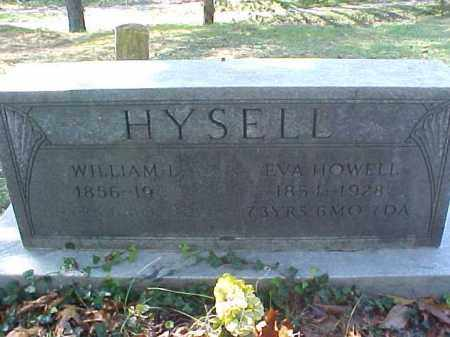 HOWELL HYSELL, EVA - Meigs County, Ohio | EVA HOWELL HYSELL - Ohio Gravestone Photos