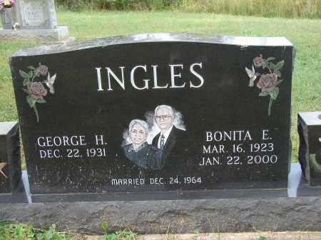 INGLES, BONITA E - Meigs County, Ohio | BONITA E INGLES - Ohio Gravestone Photos