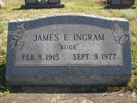 INGRAM, JAMES E - Meigs County, Ohio | JAMES E INGRAM - Ohio Gravestone Photos