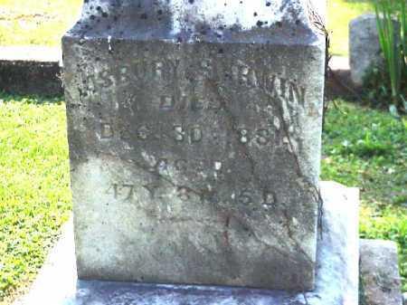 IRWIN, ASBURY - Meigs County, Ohio   ASBURY IRWIN - Ohio Gravestone Photos
