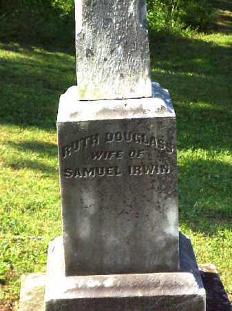 DOUGLASS IRWIN, RUTH - Meigs County, Ohio   RUTH DOUGLASS IRWIN - Ohio Gravestone Photos