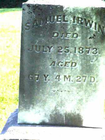 IRWIN, SAMUEL - Meigs County, Ohio   SAMUEL IRWIN - Ohio Gravestone Photos