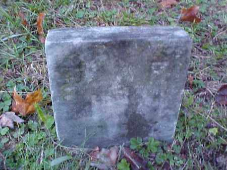 J., F. - Meigs County, Ohio | F. J. - Ohio Gravestone Photos