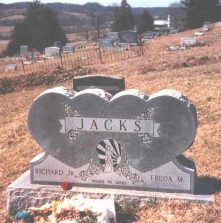 RATLIFF JACKS, FREDA M. - Meigs County, Ohio | FREDA M. RATLIFF JACKS - Ohio Gravestone Photos