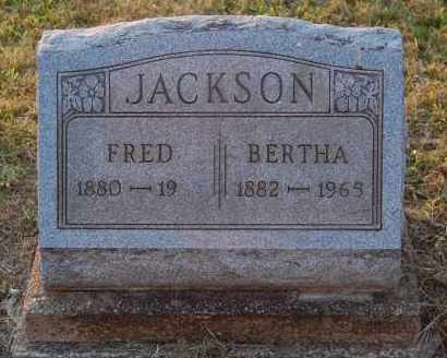 JACKSON, BERTHA - Meigs County, Ohio | BERTHA JACKSON - Ohio Gravestone Photos