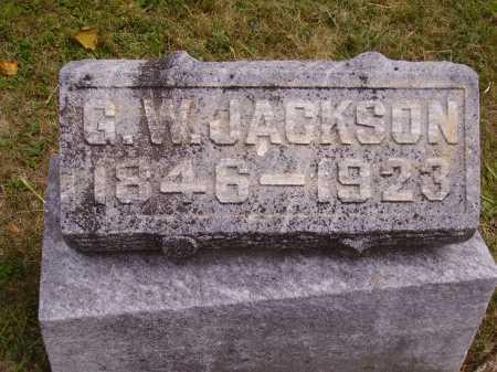 JACKSON, GEORGE W. - Meigs County, Ohio   GEORGE W. JACKSON - Ohio Gravestone Photos