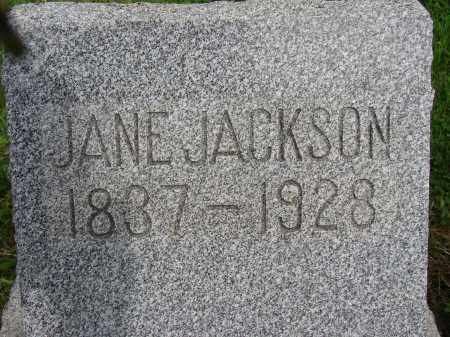 JACKSON, JANE - Meigs County, Ohio | JANE JACKSON - Ohio Gravestone Photos