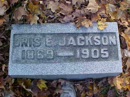 JACKSON, ORIS E. - Meigs County, Ohio | ORIS E. JACKSON - Ohio Gravestone Photos