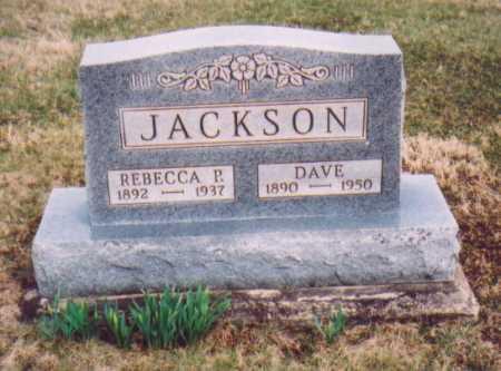 JACKSON, REBECCA P. - Meigs County, Ohio | REBECCA P. JACKSON - Ohio Gravestone Photos