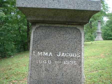 JACOBS, EMMA - Meigs County, Ohio | EMMA JACOBS - Ohio Gravestone Photos