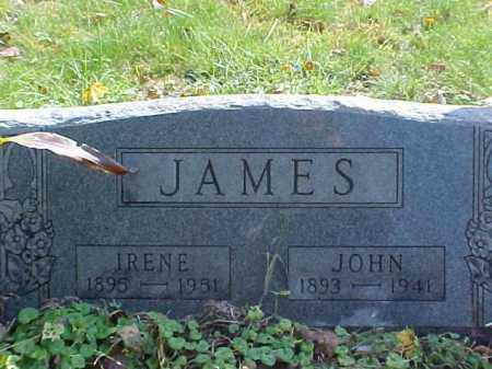 JAMES, IRENE - Meigs County, Ohio | IRENE JAMES - Ohio Gravestone Photos