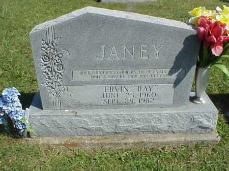 "JANEY, ERVIN ""RAY"" - Meigs County, Ohio | ERVIN ""RAY"" JANEY - Ohio Gravestone Photos"