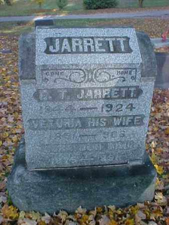 JARRETT, CORA - Meigs County, Ohio | CORA JARRETT - Ohio Gravestone Photos