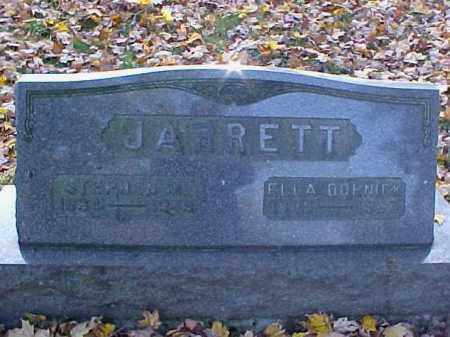 JARRETT, ELLA - Meigs County, Ohio | ELLA JARRETT - Ohio Gravestone Photos
