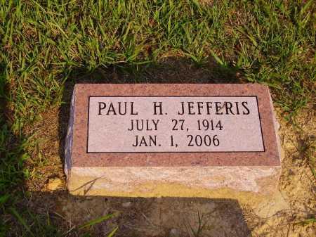 JEFFERIS, PAUL H. - Meigs County, Ohio | PAUL H. JEFFERIS - Ohio Gravestone Photos
