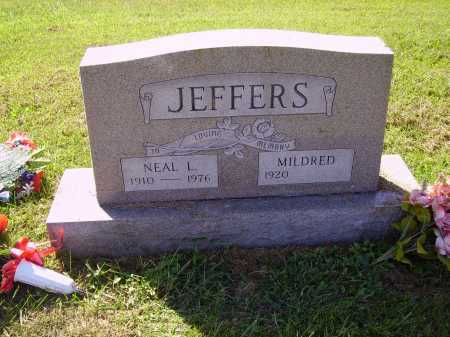 JEFFERS, NEAL L. - Meigs County, Ohio | NEAL L. JEFFERS - Ohio Gravestone Photos