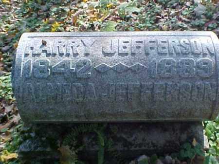 JEFFERSON, HARRY - Meigs County, Ohio | HARRY JEFFERSON - Ohio Gravestone Photos