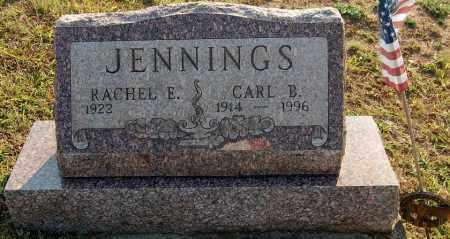 JENNINGS, RACHEL E. - Meigs County, Ohio | RACHEL E. JENNINGS - Ohio Gravestone Photos